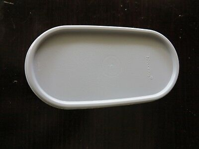 TUPPERWARE modular mate oval replacement lid - grey - Brand New