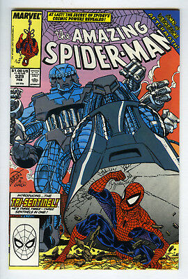 AMAZING SPIDER-MAN # 329 (First 1 series) Marvel Comics SCANS of actual comics