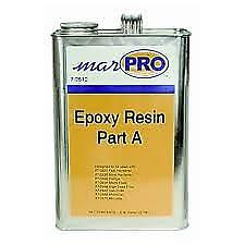 Boat Marine Epoxy Resin Part 1 Clear Low Viscosity .98Gal West 105B