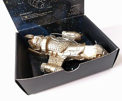 Firefly Serenity Ship Christmas ORNAMENT Joss Whedon New 2015, Scratched Box