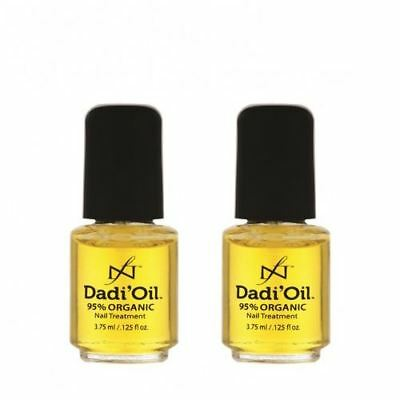 DADI'OIL Mini's 95% Organic Nail Treatment Oil - 3.75ml x 2 - UK SELLER!!!