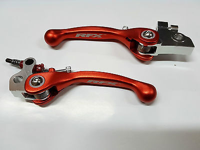 Flex Kupplungshebel Bremshebel Set Klappbar Orange KTM SX 65 04-2011 85 03-2012