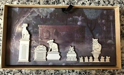 Disney Haunted Mansion O'Pin House Pet Cemetery 5 Pin Boxed Set - LE 250
