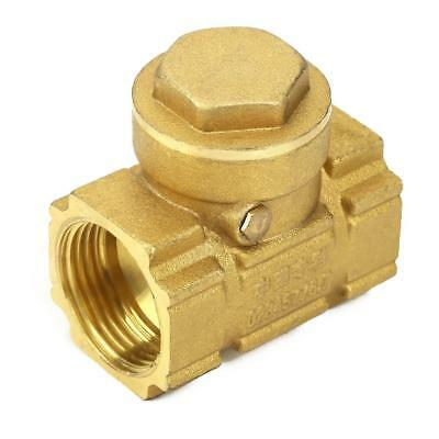DN20 Brass One-way Auto Swing Check Valve Water Oil Acidic Media High Quality ZY