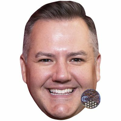 Ross Mathews (Smile) Maske aus Pappe