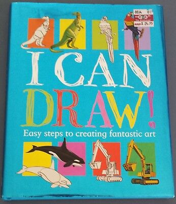 I Can Draw Book, Easy Steps to Creating Fantastic Art
