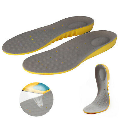 New Sports & Running Insoles Orthotic Memory Foam Arch Supports Shock-Absorption
