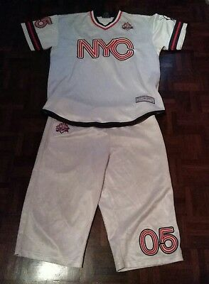 FUBU Limited Edition Collection NYC MAGLIA SHIRT CAMISETA JERSEY BASEBALL 92