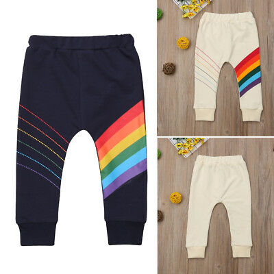 Toddler Baby Casual Trousers Jersey Harem Pants Leggings Boys Loose Clothes 1-6T