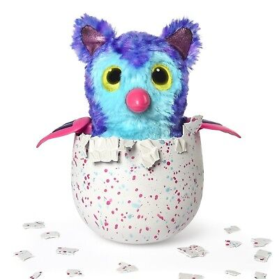 New Hatchimals Fabula Forest Hatching Egg Interactive Tigrette Pufatoo BlueGreen