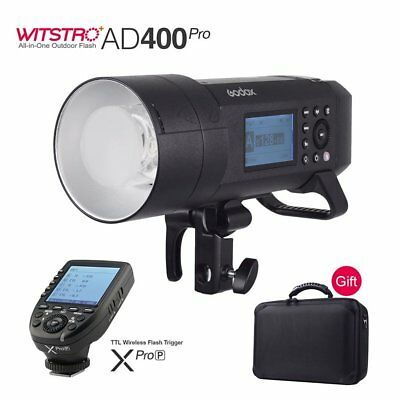 Godox AD400Pro 400W 2.4G X System TTL All-in-One Flash+Xpro-P Trigger for PENTAX