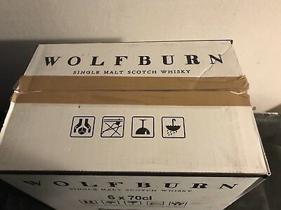 Wolfburn Whisky First General Release Kiste 6x700ml