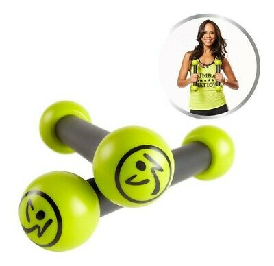 Zumba Fitness Toning Sticks 0,5 kg Set Rasseln Hanteln, zu den DVD's Step Rizer