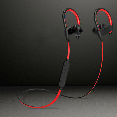 Sport Magnetic Suction Wireless Bluetooth V4.1 Earphone with Mic Headphone US