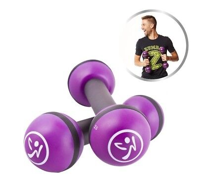 Zumba Fitness Toning Sticks 1 kg Set Rasseln Hanteln, zu den DVD's Step Rizer