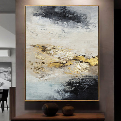 VV787 100% Hand-painted Abstract oil painting Modern Home Decoration art Canvas