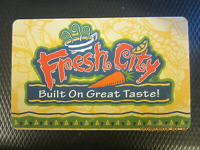 FRESH CITY  trade collect NO VALUE swap GIFT CARD