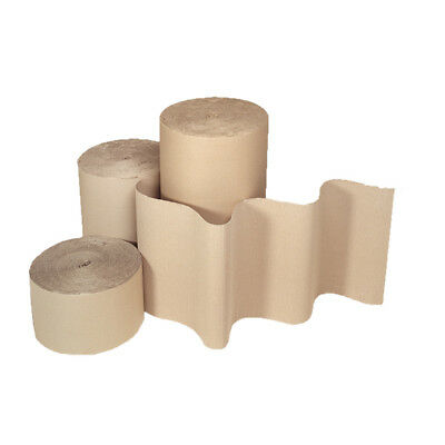 Strong Cardboard Rolls Corrugated Safety Shipping Posting Card 450mm x 75m