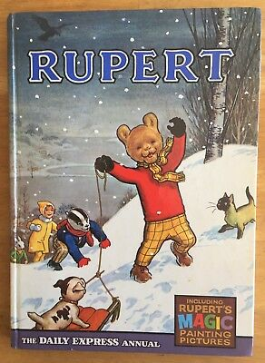 Rupert Bear Annual 1967 Magic Paintings Undone Not Inscribed Not Clipped Fine