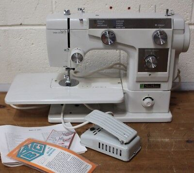 New Home Zig Zag Vintage 696 Semi-industrial Sewing Machine - 223