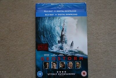 Blu-Ray Geostorm   Brand New Sealed Uk  Stock