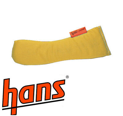 HANS Device Replacement Foam Padding Kit - Race/Racing/Rally/Rallying YELLOW
