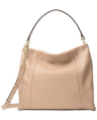 3c82e8b0d3cb NEW  368 Michael Kors Lex Large Oyster Convertible Hobo Handbag Crossbody  Purse