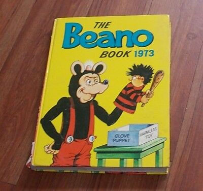 The Beano Book 1973 Annual - Vintage Collectors Item Unclipped