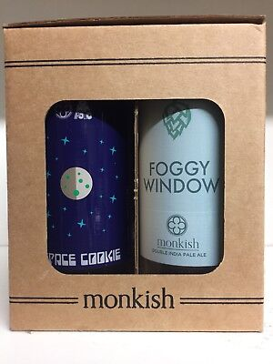 🔥Monkish Glass Gift Set Beer Other Half Collectible Tree House Trillium YKMS🔥