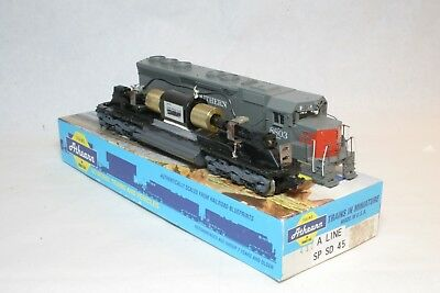 ATHEARN BLUE BOX HO scale SD-45 Southern Pacific powered can motor
