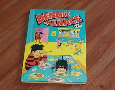 Dennis the menace annual 1978 collectable unclipped good condition