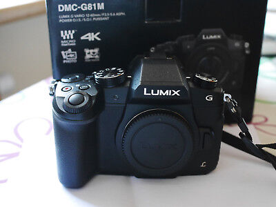 Panasonic DMC G81  Digitalkamera
