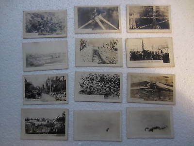 12 Old Rare Military Picture Cards From Ww1 Germany Gen. Pershing