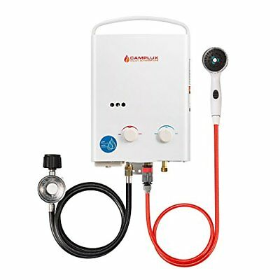 Camplux 5L 1.32 GPM Outdoor Portable Propane Tankless Water Heater Heaters Air