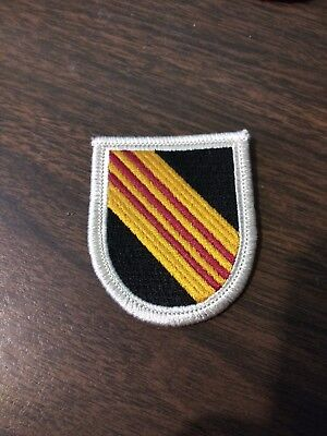 US Army 5th Special Forces Task Force 1 CCN COMMO TF1A Uniform patch Aufnäher Funsport