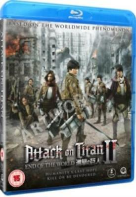 Attack On Titan: Part 2 - End of the World =Region B BluRay,sealed=