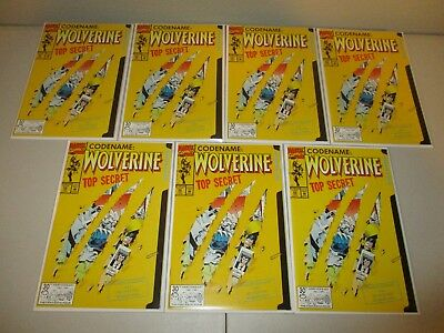 Wolverine #50 (Wholesale Lot of 7 Issues)  1992 Marvel Comics, High Grade