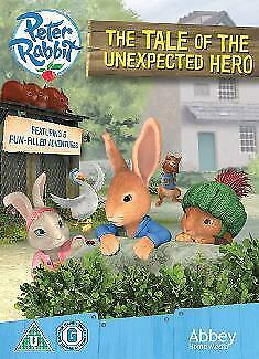 Peter Rabbit: The Tale of the Unexpected Hero =Region 2 DVD,sealed=