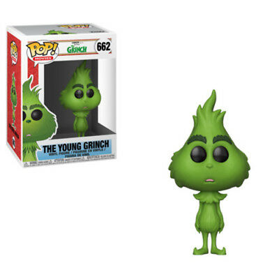 The Girnch Movie: The Young Grinch - Funko Pop! Movies: (2018, Toy NUEVO)