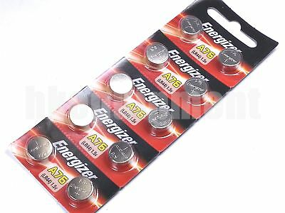 Energy LR44 A76 AG13 SR1154 Alkaline Cell Watch battery x10