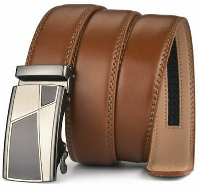 Womens Designer Belts For Women Ladies Automatic Tan Luxury Buckle Leather H410
