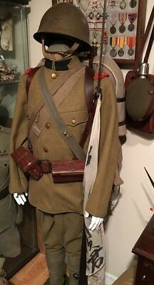 Japanes Army enlisted man uniform complete China theater