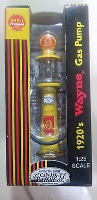1:25 1920's Shell Premium Wayne Gas Pump Die Cast Replica Gearbox Collectibles