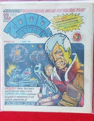 2000AD PROG 141 Dredd time travel possible? by Patrick Moore Excellent Condition