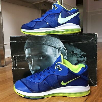 official photos 88426 35e19 Nike LeBron 8 V2 Low Sprite Size 12