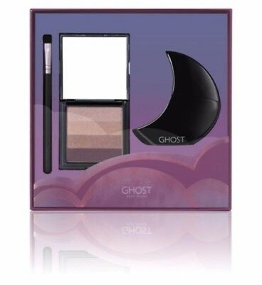 GHOST Deep Night Women's EDT Perfume Gift Set Make Up Brush 30ml New + Boxed GD3