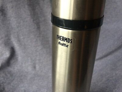 TITANIUM Thermos Shuttle Flask 500ml VERY RARE - ORIGINAL NEW & UNUSED