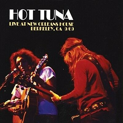 Hot Tuna - Live At New Orleans House (CD Used Very Good)