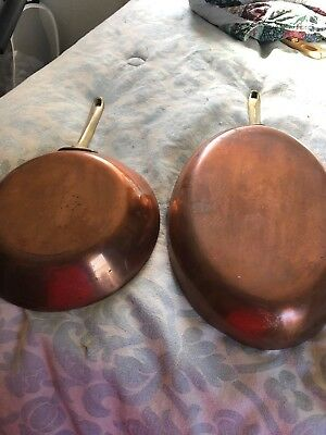2 Pieces /Paul Revere Cooper Cookware 1801 Signiture On Each Piece