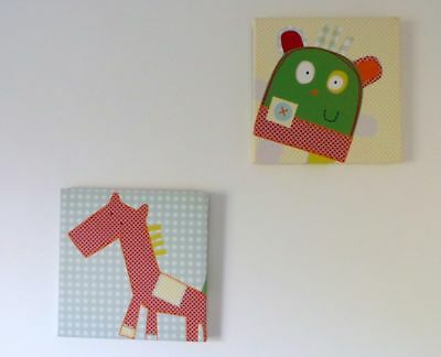 Mamas and Papas Gingerbread Horse Pictures Only x2 (This Listing)